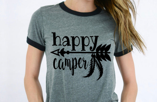 Happy Camper - Dye Sub Heat Transfer Sheet