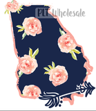 Georgia Floral - Dye Sub Heat Transfer Sheet