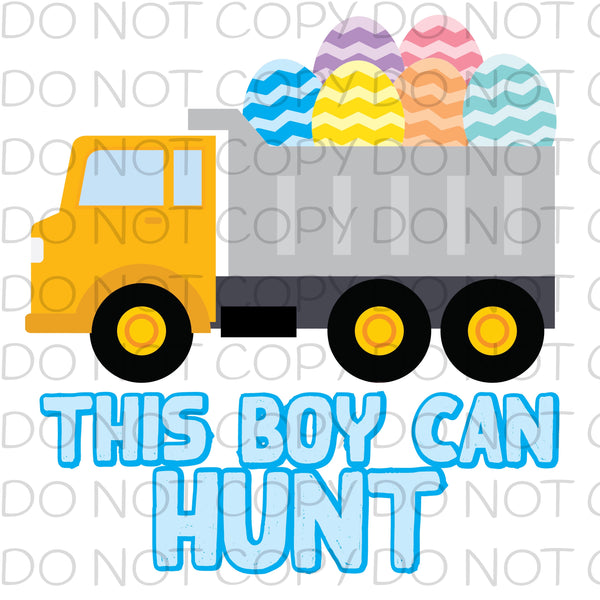 This boy can hunt - HTV Transfer