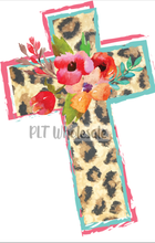 Leopard Cross - Dye Sub Heat Transfer Sheet