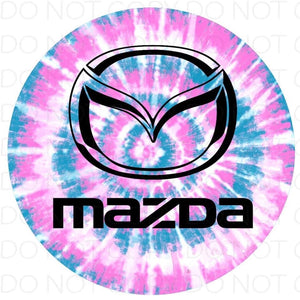 Mazda - Rubber Neoprene Car Coasters