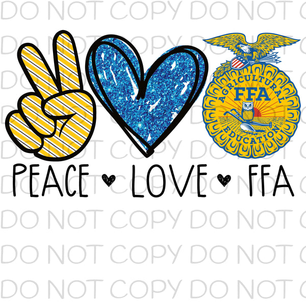 Peace love FFA - HTV Transfer