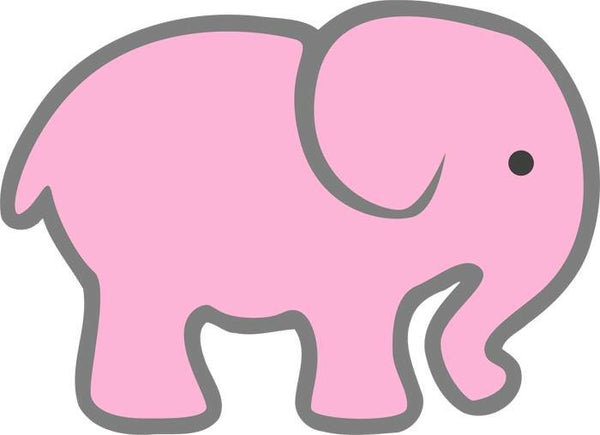 Pink Elephant - Dye Sub Heat Transfer Sheet