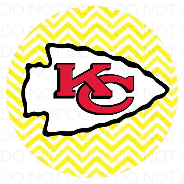 Kansas City chiefs - Rubber Neoprene Car Coasters