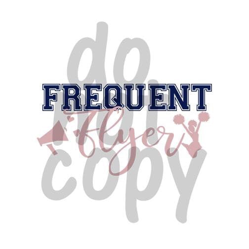 Frequent Flyer - Dye Sub Heat Transfer Sheet