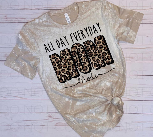 Mom Mode All Day Everyday Leopard - Digital Download