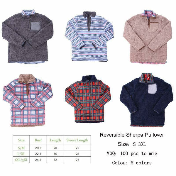 Reversible Pullovers