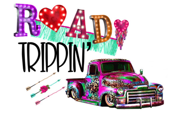 Road Trippin - Dye Sub Heat Transfer Sheet