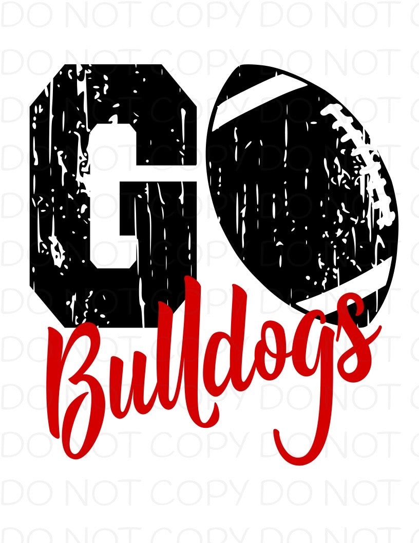 Go Bulldogs - HTV Transfer