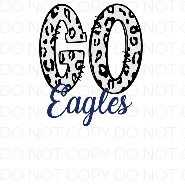 Go Eagles Blue - Digital Download