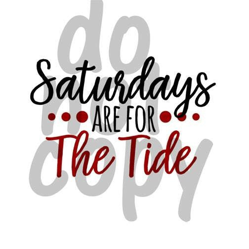 Saturdays Are For The Tide - Dye Sub Heat Transfer Sheet
