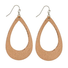 Earrings-Faux Leather