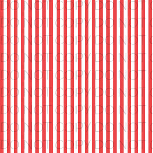 Red White Striped-Patterned Vinyl Sheets