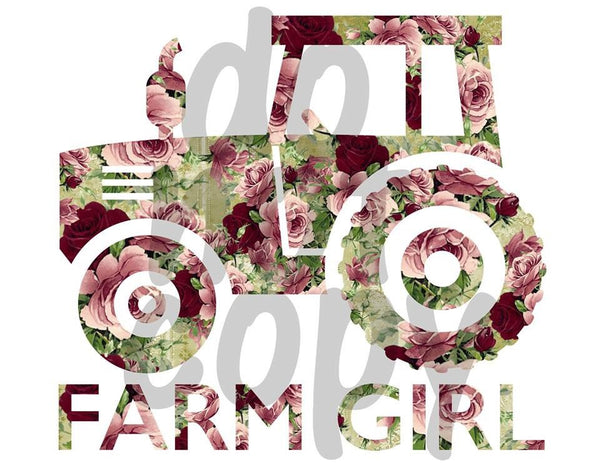 Farm Girl - Dye Sub Heat Transfer Sheet