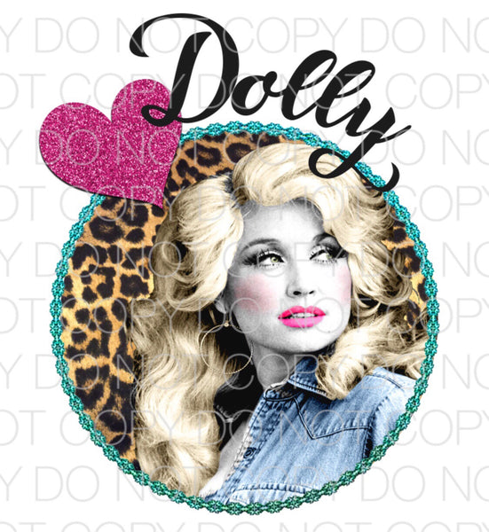 Dolly - Dye Sub Heat Transfer Sheet