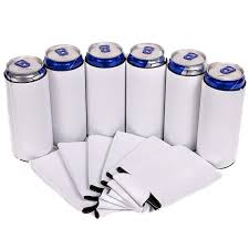 Sublimation Ready Slim Can Coolers