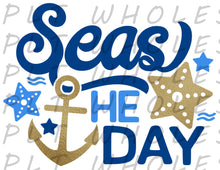 Seas The Day - Dye Sub Heat Transfer Sheet