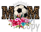 Soccer Mom Leopard - Dye Sub Heat Transfer Sheet