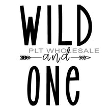 Wild and One - Dye Sub Heat Transfer Sheet