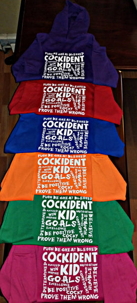 Cockident Kid Hooded Sweatshirt