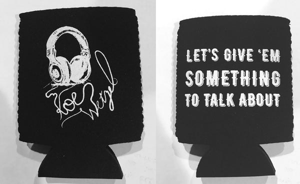 Something To Talk About Koozie - Black