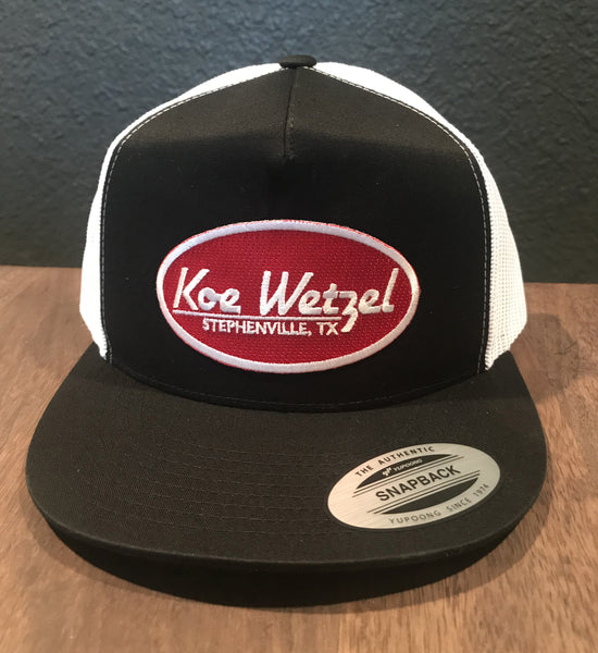 Koe Wetzel Black/White Hat - Black/White
