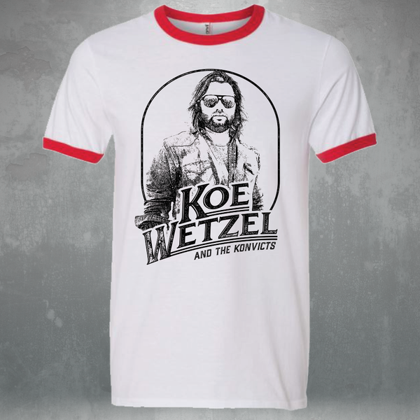 Koe Portrait Shirt - White