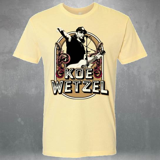 Yellow Koe Wetzel Shirt