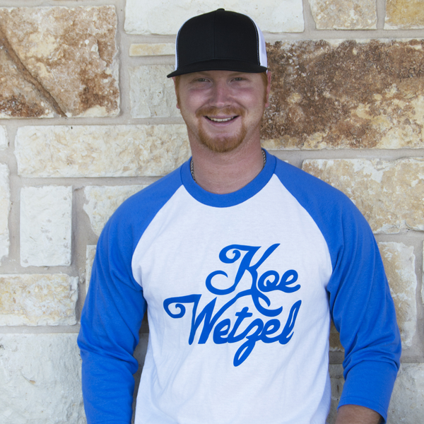 Koe Wetzel Signature 3/4 Sleeve - Blue