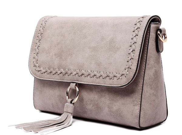 crossbody gray