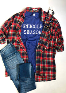 Snuggle season- long sleeve shirt