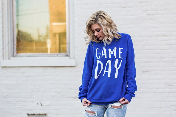 Alternate-Game Day-Sweatshirt-Blue-Football-Basketball-Sports