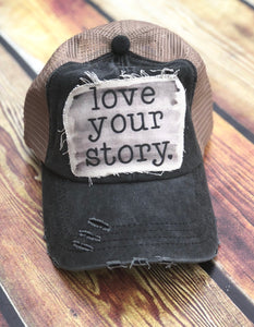 Love Your Story-Fairytale Collection-Fairytale-Trucker Hat-Baseball Cap-Hat-Love-Story-Accessories