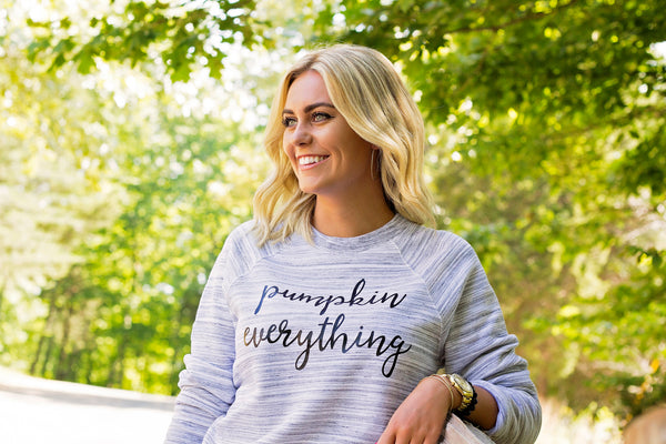 Pumpkin Everything-Pumpkin Spice-Sweatshirt-Fall-Seasonal-Apparel