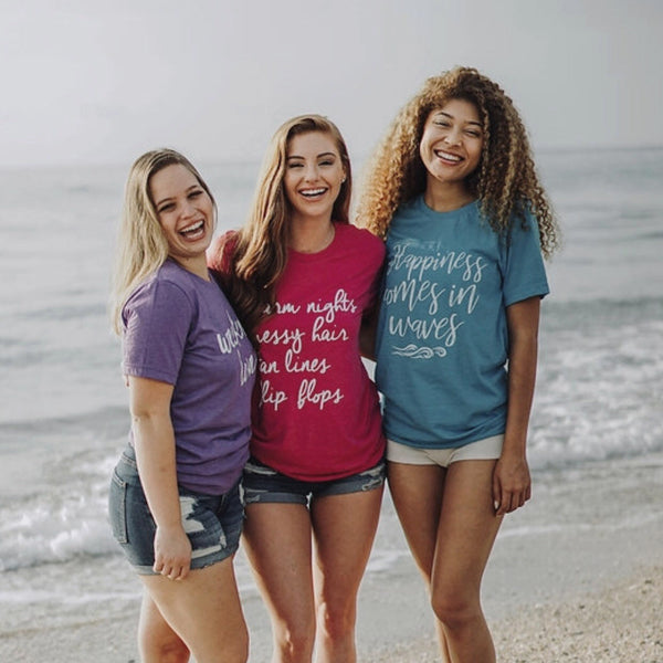 Warm Nights-Messy Hair-Tan Lines-Flip Flops-Bella Canvas-Tshirt-Short Sleeve-Super Soft-Comfy-Summer Collection-Summer-Bonfire-Vacation-Lake Life-Summer Nights-Summer-Fun-Beach-Tee-Graphic Tee-Apparel-Women-Cruise-Nautical-Summer wear
