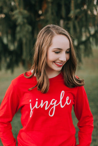 Jingle-Long Sleeve Tee