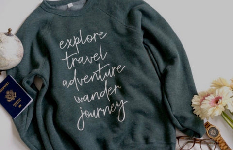 Explore List-Sweatshirt
