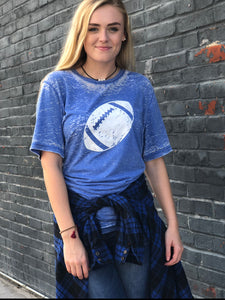 Football-Blue-Tshirt