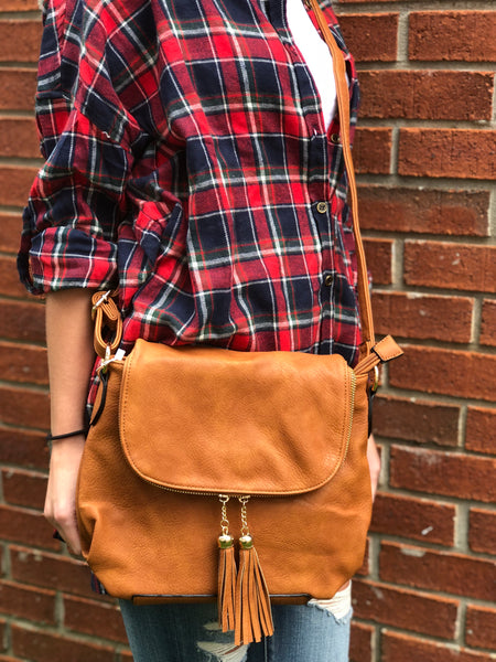 Crossbody Purse-Tassel Bag