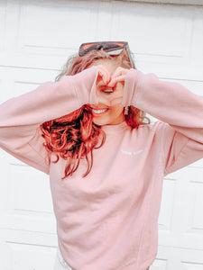 Show Love Sweatshirt - Pink