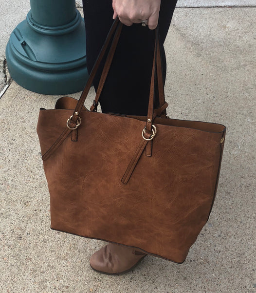 2 in 1 Purse-Tote and Crossbody- Two in One