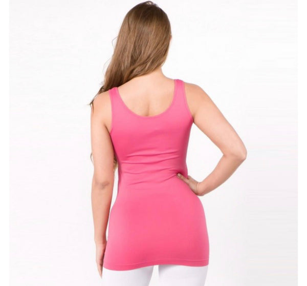 Seamless Tank Top in One Size-Multiple Colors