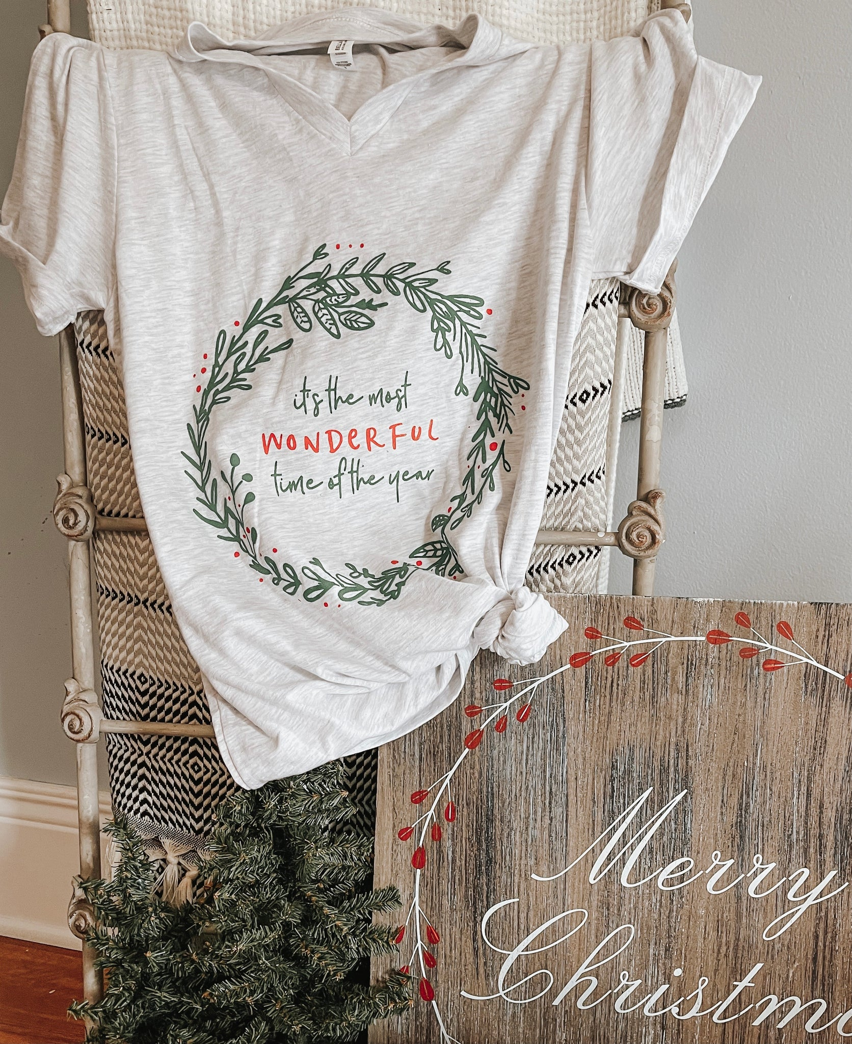 Most Wonderful Time of the Year- Short-Sleeve Shirt - Christmas