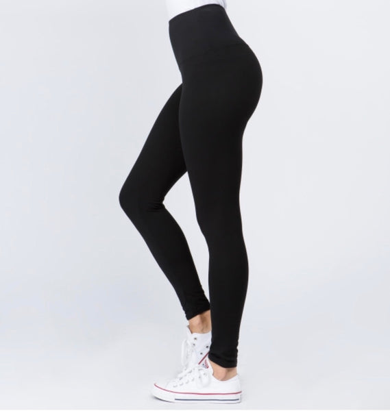 "Super Soft ""Peach Skin"" Leggings-Plus Size"