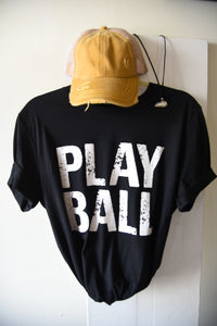 Play Ball - Black