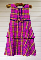 Charming Seersucker Plaid - Size 6