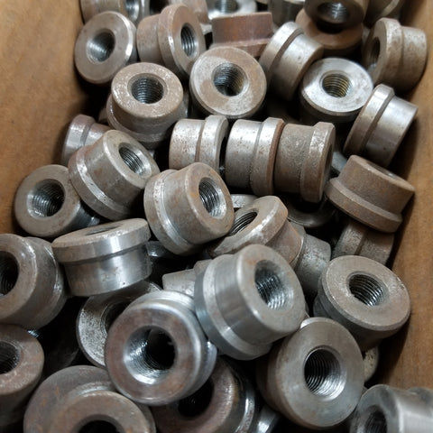 "7/8"" Threaded Tube Ends 3/8-24 (RH or LH) 10 pack"