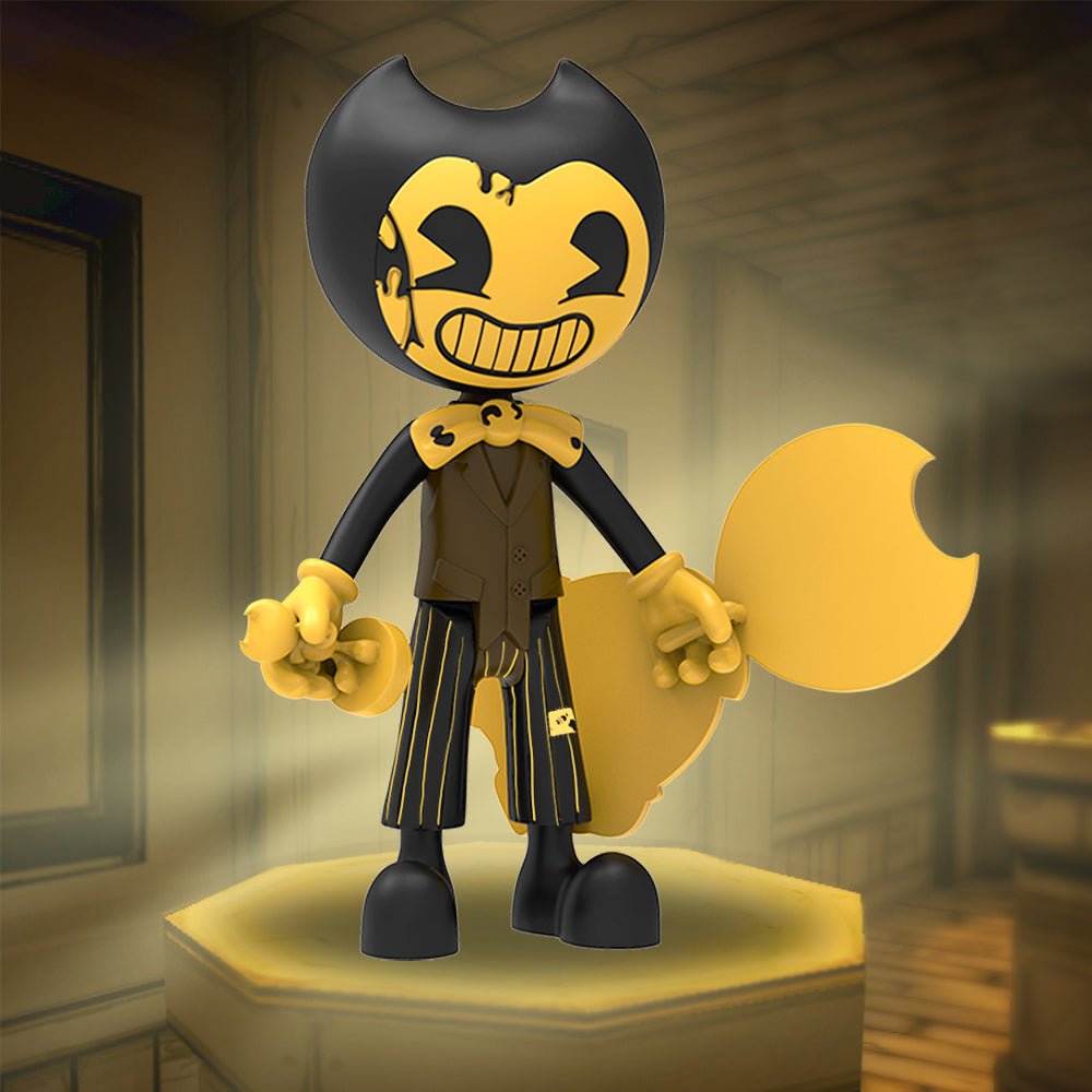 Cartoon Bendy Action Figure - Bendy and the Ink Machine ...
