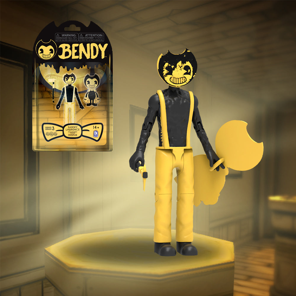 "Cartoon Bendy 5/"" Action Figure Bendy And The Dark Revival Series 3 BATDR"