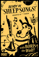 Boris the Wolf Sheep Songs Poster